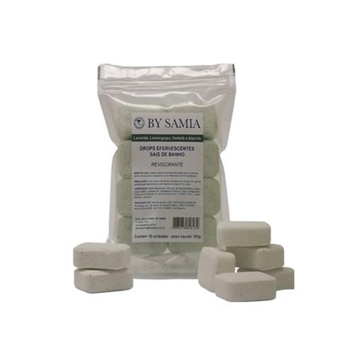 Sais de Banho Efervescentes em Formato de DROPS Revigorante Pacote com 10 Unidades - by Samia