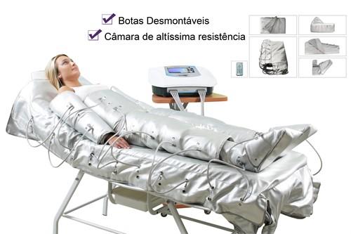 Drenapress (Sem Rack)- Pressoterapia sequencial de 8 canais - CECBRA