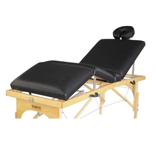 Maca Portátil Canopus - Mesa de Massagem Portátil de Madeira c/ 3 Posições