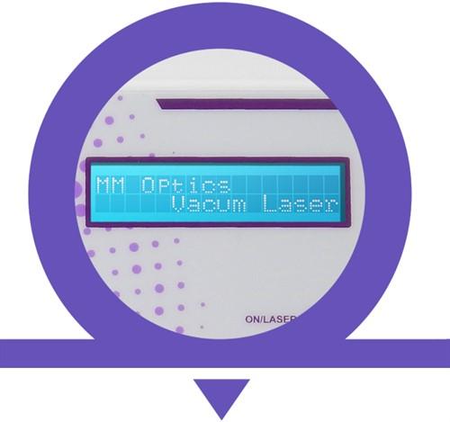Vacum Laser -  Laser 660nm, 808nm, Vacuoterapia e Fototerapia em uma única plataforma