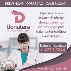 Donatera - Assistência Técnica, especialista na manutenção de equipamentos de tecnologia para tratamentos estéticos e reabilitação física