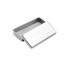 Estojo de Inox médio - Ideal para armazenar instrumentos para esterilização