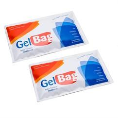 Kit Gelbag - 2 Bolsas térmicas reutilizáveis, ideal para dor, contusões, inchaços, cólicas, conservação de alimentos
