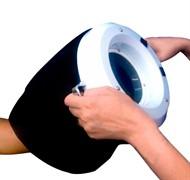 Lupa de Mão com Capa e Lâmpada Circular de Wood