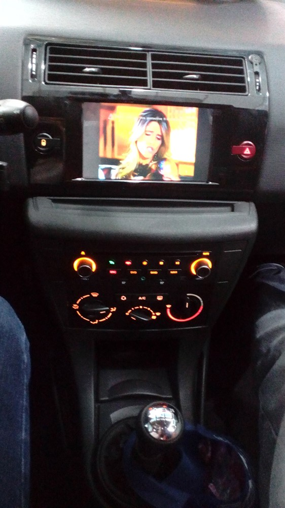 Central Multim 205 Dia Aikon S90 5 0 Plus Citroen C4 Hatch E