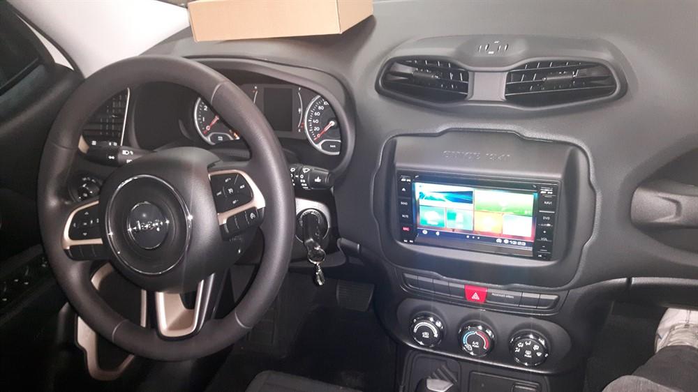 Central Multimidia Aikon 5 0 Jeep Renegade Pcd Sport