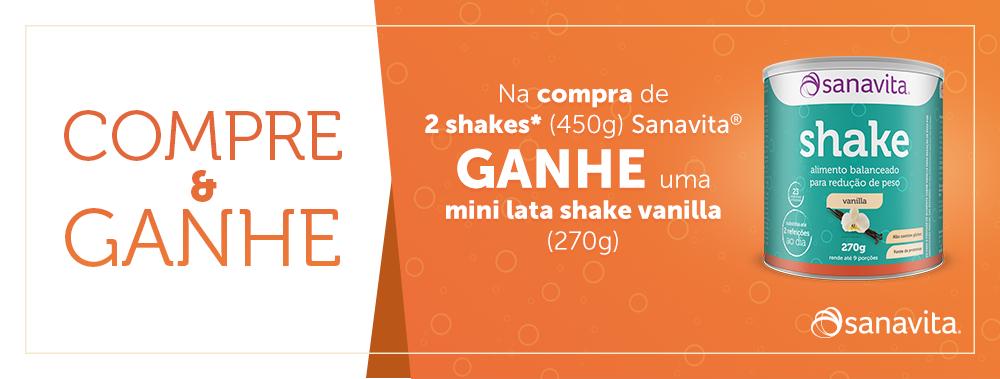 Promoção Sanavita Shake - Aproveite!