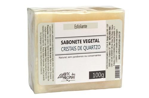 Sabonete Esfoliante Cristais de Quartzo  - 100 g