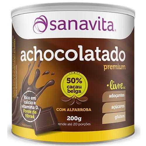Achocolatado Premium Livre - 200g - Sanavita