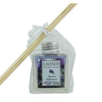 Aroma de Ambiente Lavanda com varetas - 100ml