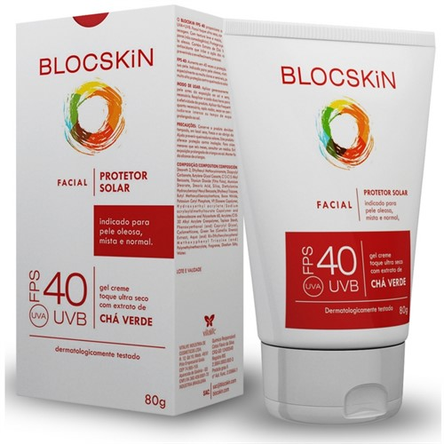 Blocskin FPS 40 Facial - 80g
