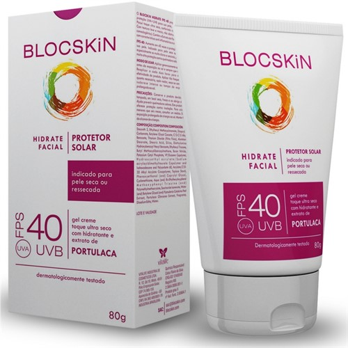 Blocskin FPS 40 Hidrate Facial - 80g