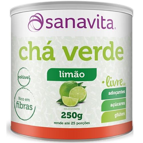 Chá Verde Limão - Livre - Sanavita