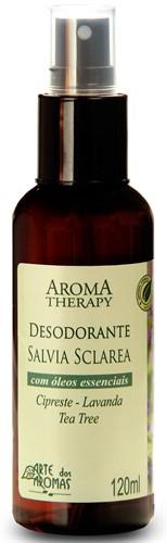 Desodorante Natural de Sálvia -  120 ml