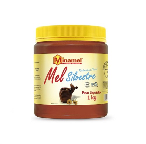 Mel Silvestre Minamel - Predominância Floral 1kg