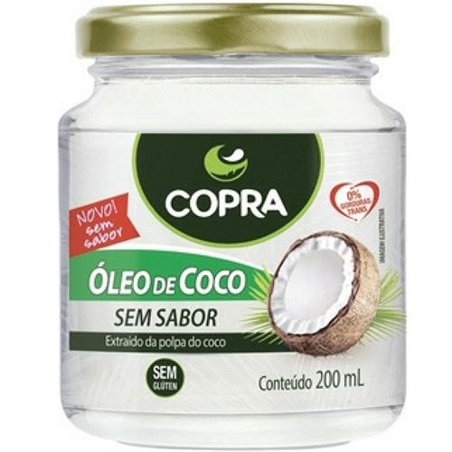 Óleo de Coco - Sem Sabor - Copra Alimentos