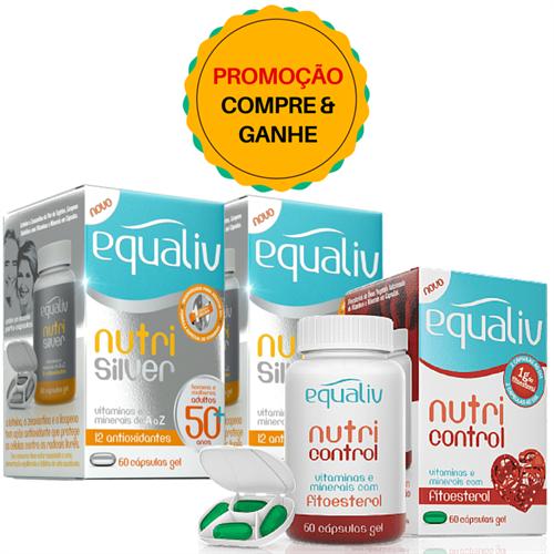 Kit Nutri Silver - Compre 2 - Ganhe 1 Nutri Control