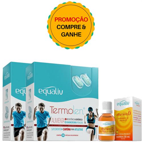 Kit Equaliv Termolen - Compre 2 - Ganhe 1 Vitamina D