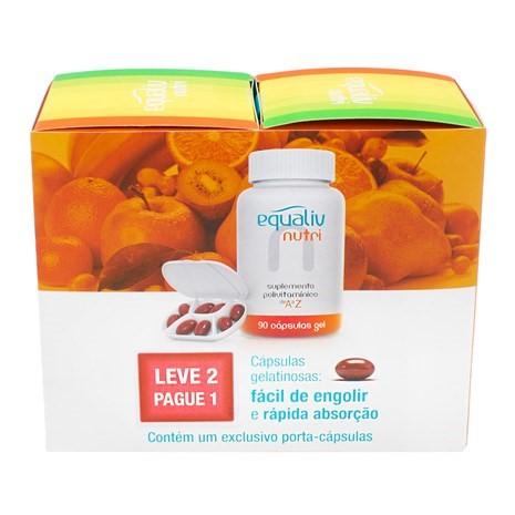 Nutri Polivitamínico 180 cápsulas Leve 2 Pague 1