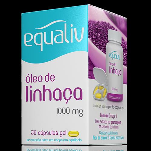 Óleo de Linhaça - 1000mg - 30 Cápsulas gel