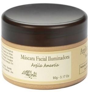 Máscara Facial Iluminadora Argila Amarela - 90g