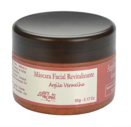 Máscara Facial Revitalizante Argila Vermelha - 90g