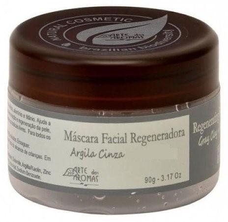 Máscara Facial Regeneradora Argila Cinza - 90g