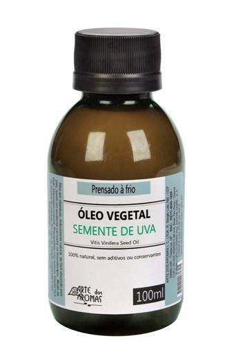 Óleo Vegetal Natural Semente de Uva (Vitis vinifera) - 100ml