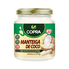 Manteiga de Côco - 210g