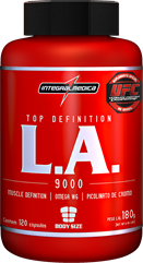L.A. Top Definition com Cromo - 120 cápsulas
