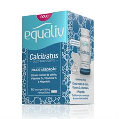 Calcitratus - Cálcio Biodisponível - 60 comprimidos revestidos