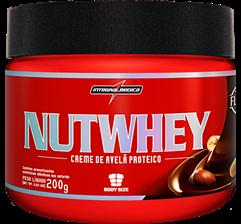 Nutwhey Creme de Avelã Proteico