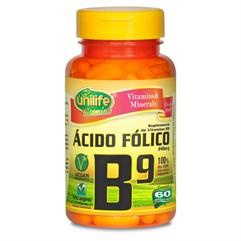 Ácido Fólico - Vitamina B9 - Cápsulas