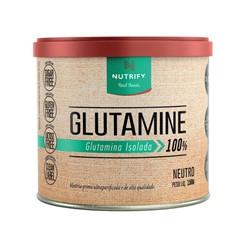 Glutamina isolada - Nutrify