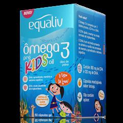 Ômega 3 Pro Kids Oil - 60 cápsulas gel