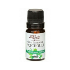 Óleo Essencial Patchouli (Pogostemon cablin) - 10ml