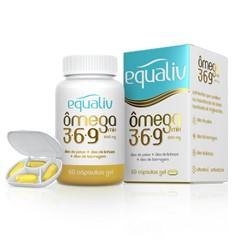 Ômega Mix 3.6.9 - 60 cápsulas - Equaliv