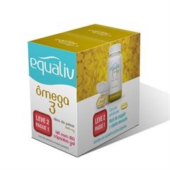 Equaliv Ômega 3 - 180 cápsulas - Leve + Pague -