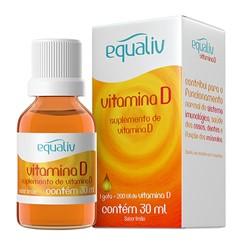 Vitamina D Pura 200 UI (5 mcg) - 30 mL
