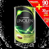 Linolen Óleo de Cártamo -  90 cápsulas + 30 grátis