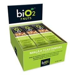 BiO2 7 NUTS - Display com 12 un. x 25g
