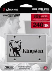 Ssd Kingston 240gb Uv400 Sata 3 6gb/s 550mb/s Original