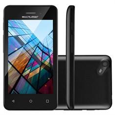 Smartphone Ms40S Preto Colors Quadcore 8gb Tela4 Multilaser