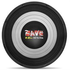 Woofer Bravox Rave 15 Polegadas 1100 Rms woofer