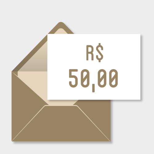 Doação de R$50,00