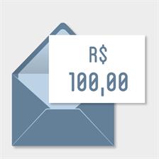 Doação de R$100,00
