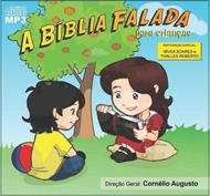 CD Biblia Falada Crianças - Kit com 10