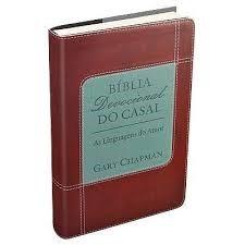 Bíblia Devocional do Casal Vermelha - As Linguagens do Amor