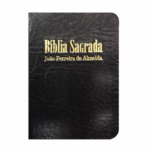 Bíblia Sagrada RC Mini de Bolso c/ zíper - Preta