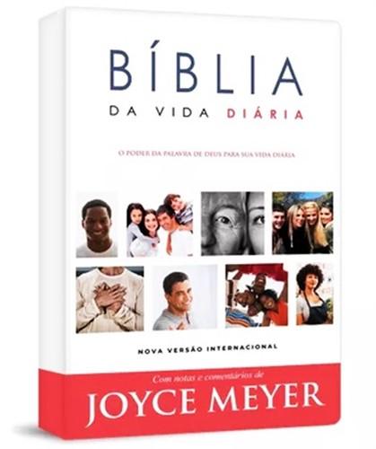 Bíblia de Estudo Joyce Meyer Semi Flex